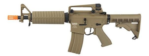 Lancer Tactical M933 Commando Proline Series High FPS AEG Airsoft Rifle, Tan