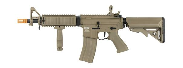 Lancer Tactical LT-02 MOD 0 MK18 M4 Proline Series High FPS Airsoft Rifle, Tan