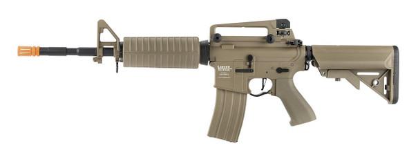Lancer Tactical LT-03 M4A1 Proline Series High FPS Airsoft Rifle, Tan