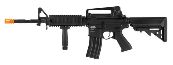 Lancer Tactical LT-04 M4 RIS Proline Series High FPS Airsoft Rifle, Black