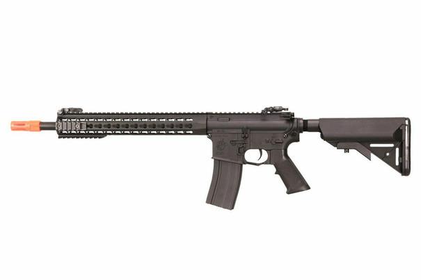 Knights Armament Nylon Fiber SR-16E3 Carbine MOD2 Airsoft AEG, Black