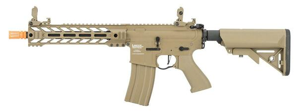 Lancer Tactical BattleHawk LT-34 AEG Airsoft Rifle, Tan