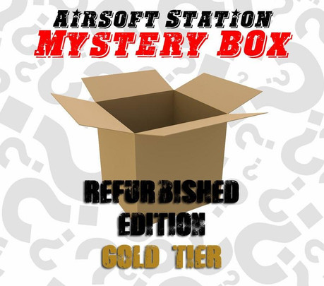 Airsoft Station Mystery Box - Refurbished Airsoft Gun Gold Tier Edition