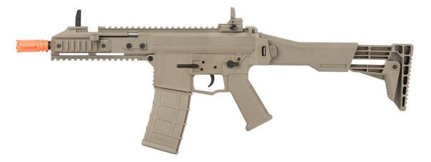 GHK G5 Gas Blowback Airsoft Rifle, Tan