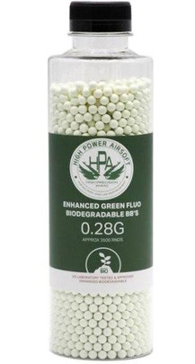 HPA 0.28g Biodegradable Airsoft BBs, 3500 Ct