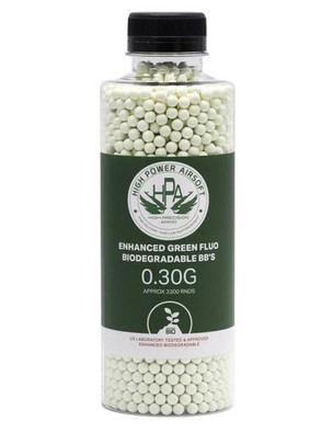 HPA 0.30g Biodegradable Airsoft BBs, 3300 Ct