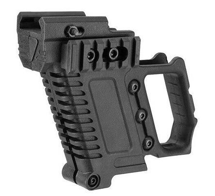 Lancer Tactical Carbine Kit for G-Series GBB Pistols, Black