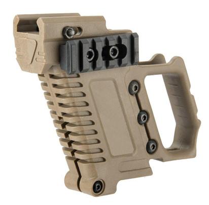 Lancer Tactical Carbine Kit for G-Series GBB Pistols, Tan
