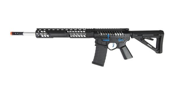 EMG F-1 Firearms BDR-15 3G AR15 Full Metal Magpul AEG Airsoft Rifle, Black / Blue