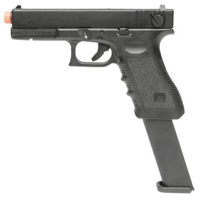 VFC Glock G18 Gen3 Gas Blowback Airsoft Pistol w/ Extended Magazine, Black
