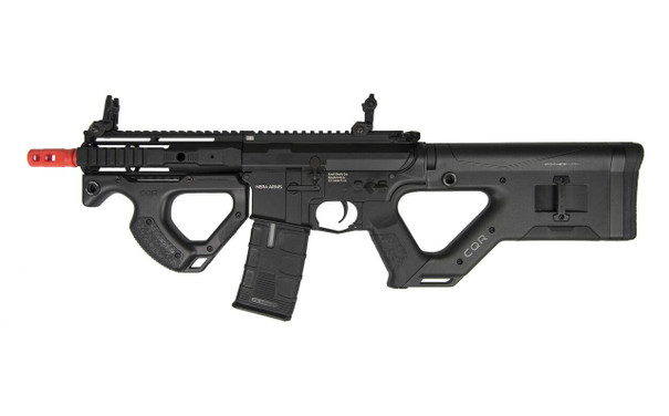ASG HERA ARMS CQR SSS Airsoft Rifle w/ Programmable MOSFET, Black