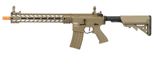 Lancer Tactical Enforcer Series BATTLE HAWK 14 ProLine High FPS AEG Airsoft Rifle, Tan
