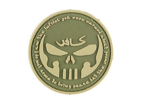 G-Force Infidel With Punisher PVC Patch, Green