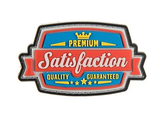 G-Force Satisfaction Guaranteed PVC Morale Patch