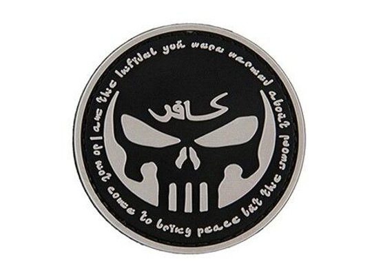 G-Force Infidel with Punisher PVC Patch, Black