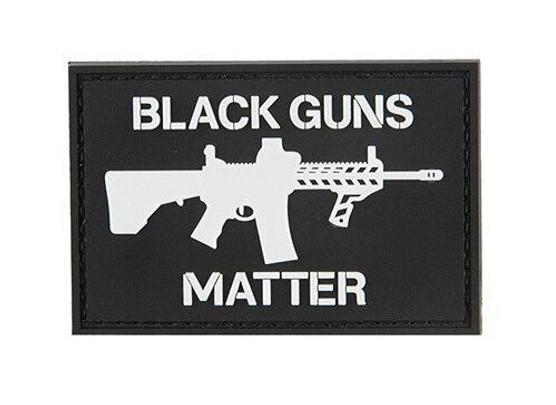 G-Force Black Guns Matter PVC Patch