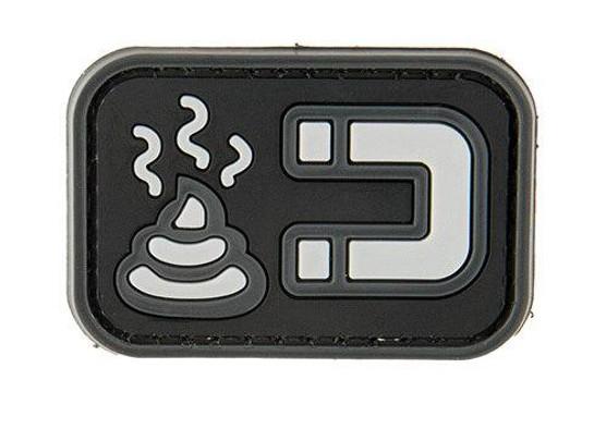 G-Force S Magnet PVC Morale Patch, Gray