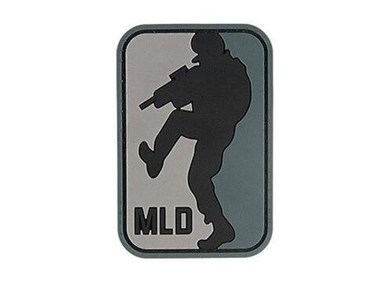 G-Force MLD Major League Doorkicker PVC Morale Patch, Black