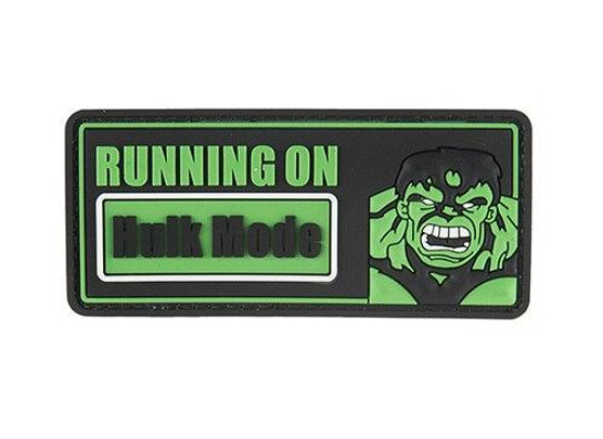 G-Force Running On Hulk Mode PVC Morale Patch