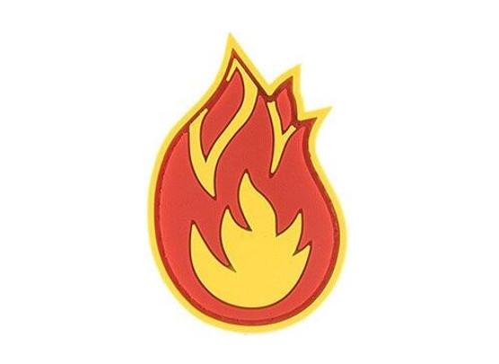 G-Force Fireball PVC Morale Patch