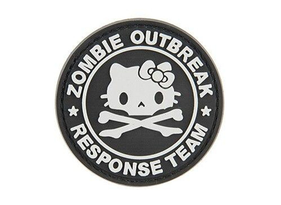 G-Force Zombie Outbreak Response Team Kitty PVC Morale Patch