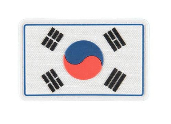 G-Force Korean Flag PVC Patch