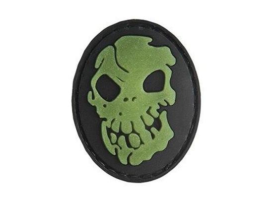G-Force Skull Glow-In-Dark PVC Patch