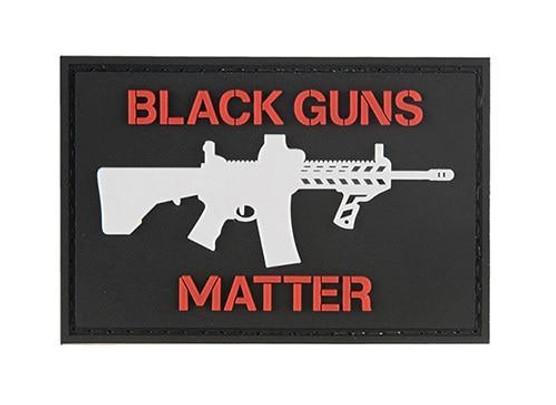G-Force Black Guns Matter PVC Morale Patch