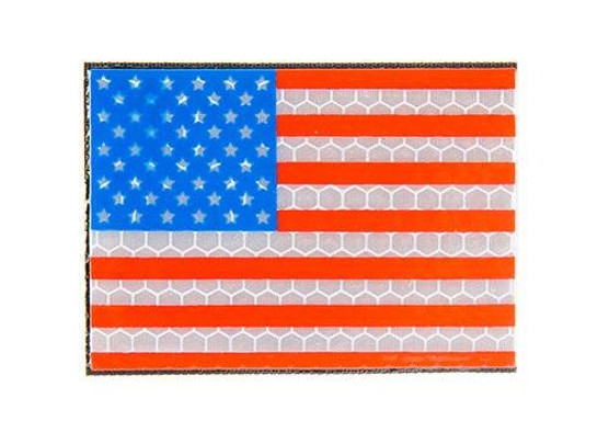 G-Force US Flag Reflective Morale Patch