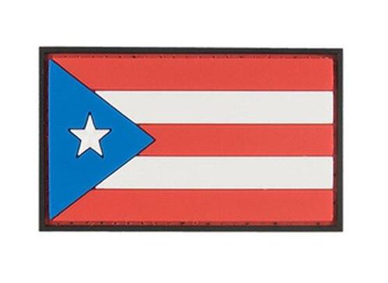 G-Force Puerto Rico Flag PVC Morale Patch