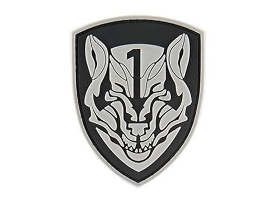 G-Force Shield Wolf Morale Patch, White