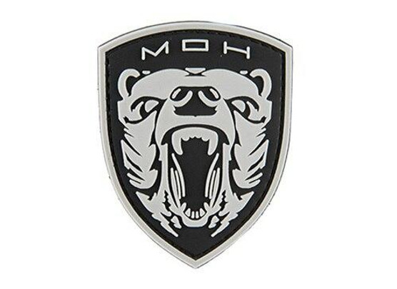 G-Force Medal of Honor Moh Grizzly PVC Morale Patch