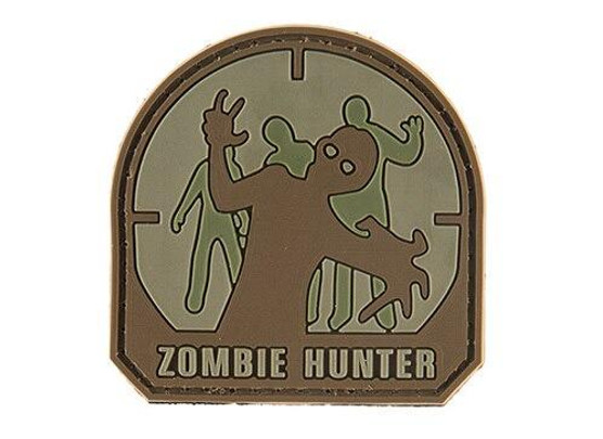 G-Force Zombie Hunter PVC Morale, Small, Brown