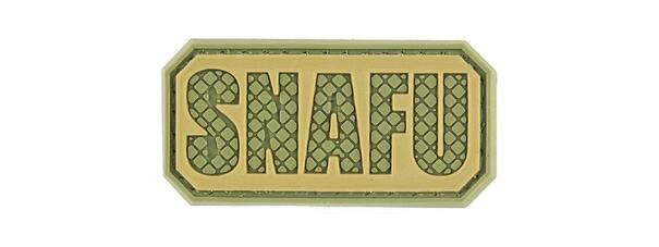 G-Force SNAFU PVC Morale Patch