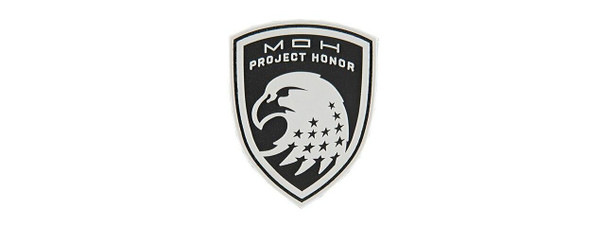 G-Force Shield of Project Honor PVC Morale Patch, Black
