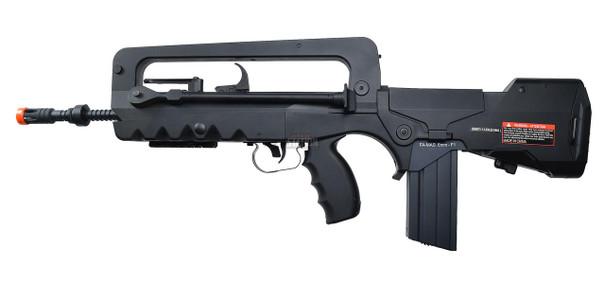 Cybergun FAMAS AEG Airsoft Rifle, Black