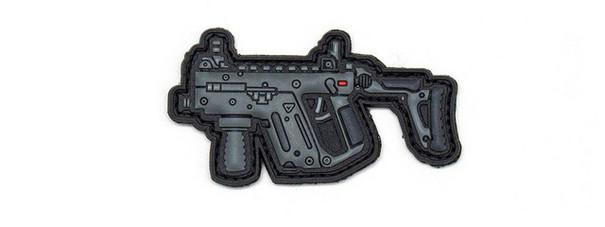 Aprilla Design PVC Iff Hook and Loop Modern Warfare Series Patch, Kriss Vector