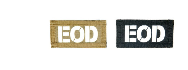 EOD Call Sign Patches, IR and Glow-In-The-Dark Set