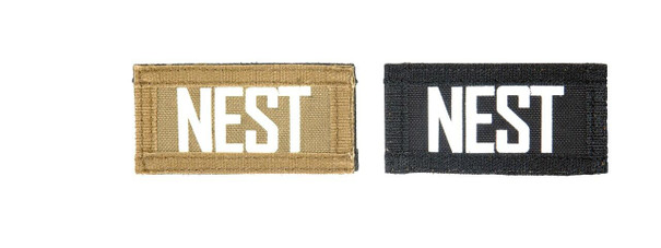 Nest Call Sign Patches, IR and Glow-In-The-Dark Set