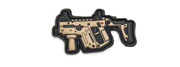 Aprilla Design PVC Iff Hook and Loop Modern Warfare Series Patch, Kriss Vector DE
