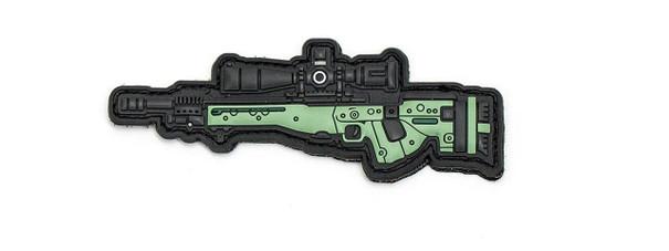 Aprilla Design PVC Iff Hook and Loop Modern Warfare Series Patch, Ai Ae, OD Green