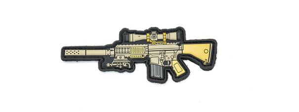 Aprilla Design PVC Iff Hook and Loop Modern Warfare Series Patch, M110