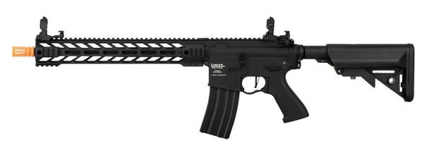 Lancer Tactical Enforcer Series BATTLE HAWK 14 ProLine High FPS AEG Airsoft Rifle, Black