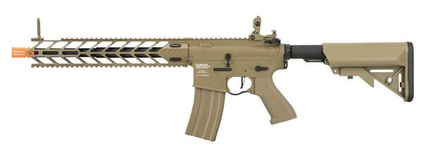 Lancer Tactical LT-33 NIGHT WING ProLine High FPS AEG Airsoft Rifle, Tan