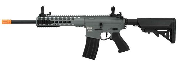 Lancer Tactical M4 LT-19 10 ProLine High FPS Carbine Airsoft Rifle, Gray