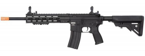 Lancer Tactical LT-333B MK1 SMR Black Jack Strategic 10 M4 Airsoft Rifle