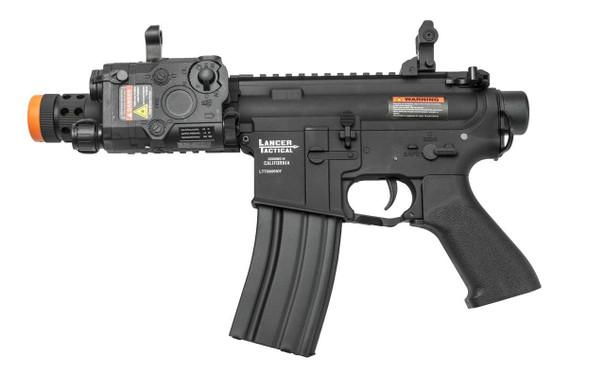 Lancer Tactical LT-708 M4 708 Full Metal AEG Airsoft Rifle, Black