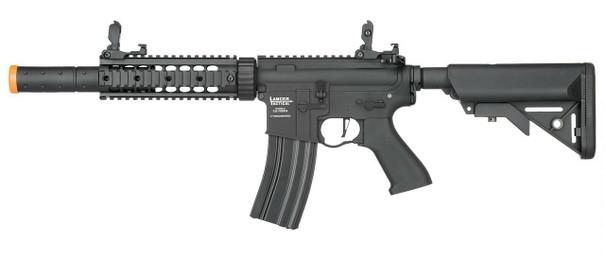 Lancer Tactical M4 SD Proline Series 7 Rail Low FPS Airsoft Rifle, Black