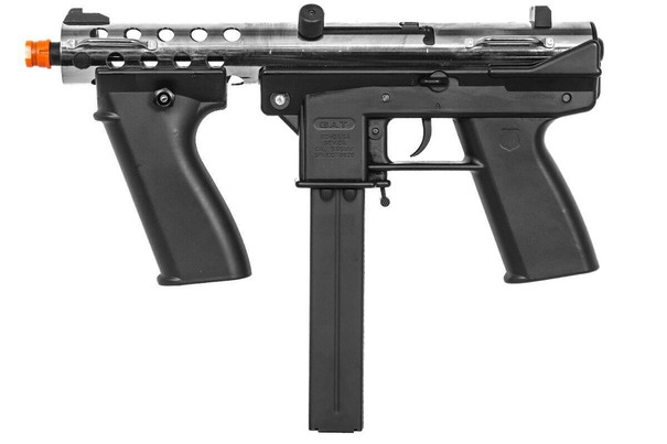 Echo 1 GAT General Assault Tool SMG Airsoft Rifle, Chrome
