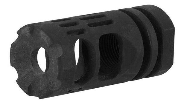 Lancer Tactical Tactical Hybrid Muzzle Brake Compensator, Black